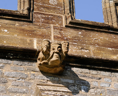 Grotesque on All Saints Langport