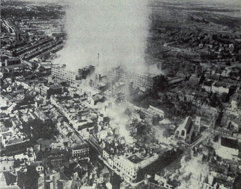BLOG NORWICH caleys choc factory 27 apr 1942 IWM FRE10884