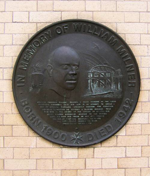 BLOG YORK william milner memorial plaque malcolm brooke military histories